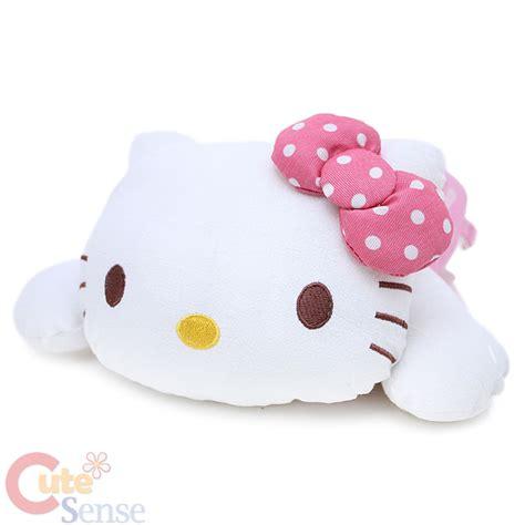 hello kitty pillow sanrio hello kitty pink bow pillow cushion arm cusion auto