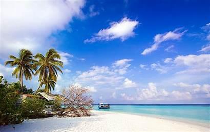 Wallpapers Island Beach Tropical Desktop Screensaver Phuc