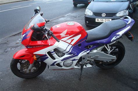 cheap honda cbr600rr honda cbr 600 f s reg red blue white lovely cheap px rides