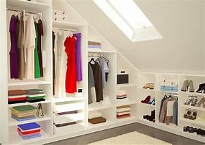 Begehbarer Kleiderschrank Selber Bauen Dachschräge : begehbarer kleiderschrank ideen so geht 39 s ~ Watch28wear.com Haus und Dekorationen