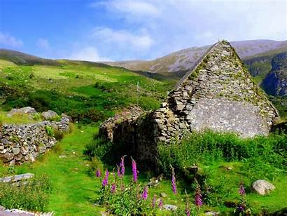 Ireland Irish Landscape Northern Wallpapers Cross Scenery
