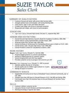 high senior resume for college sle good resume exle for high student templates