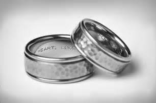 engraved mens wedding bands grooms wedding rings articles easy weddings