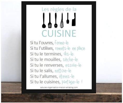 cuisine et citation les bons réflexes à adopter pour une cuisine impeccable