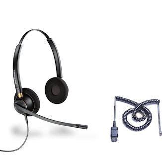 headset yamaha plantronics hw520 a10 encorepro binaural the