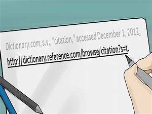 7 Ways To Cite A Dictionary