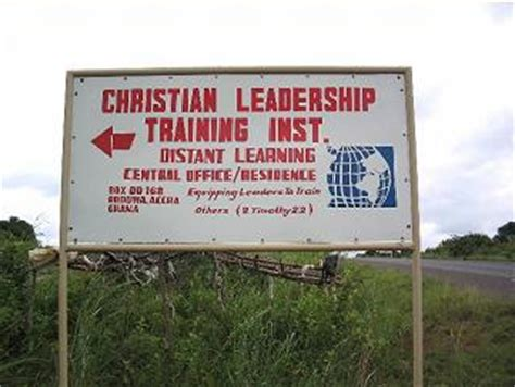 christian leadership training institute