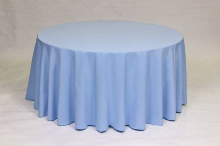 Light Blue Tablecloth by Linen Colors Mutton And Tent Rental Serving