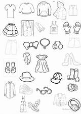 Worksheet Clothing Colouring Coloring Printable Worksheets Esl Overalls Clothes Pages Vocabulary English Activities Printables Learning Games Print Template Fun Upvote sketch template