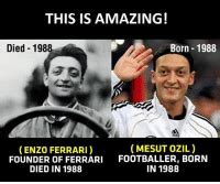 Dimensions, wheel and tyres over the years ferrari has introduced a series of supercars which have represented the very pinnacle of. THIS IS AMAZING! Born 1988 Died 1988 MESUT OZIL ENZO FERRARI FOUNDER OF FERRARI FOOTBALLER BORN ...