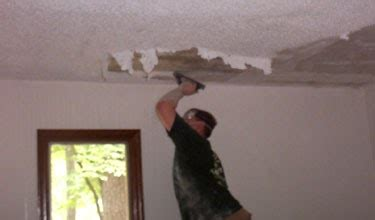 kitchen table     remove  popcorn ceilings