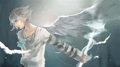 Anime Cool Guy Boy 1080p Background Wings
