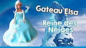 Gâteau Reine Des Neiges : g teau elsa reine des neiges i cake design elsa doll ~ Farleysfitness.com Idées de Décoration