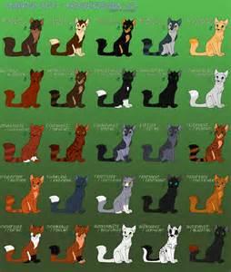 warrior cat names list warrior cats warrior design 1 3 by winterstream on