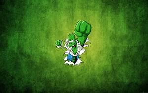 simpsons wallpaper hulk