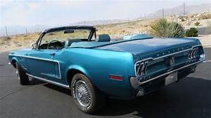 1968 Ford Mustang Convertible J Code 302 V8 4 Speed  New