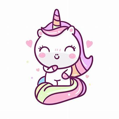 Kawaii Unicorn Pastel Unicornio Cartoon Unicorno Licorne