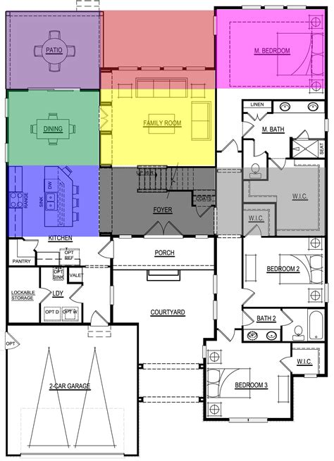 Feng Shui Wohnen Beispiele by The Feng Shui Bagua Overlays Onto The Floor Plan Of A Home