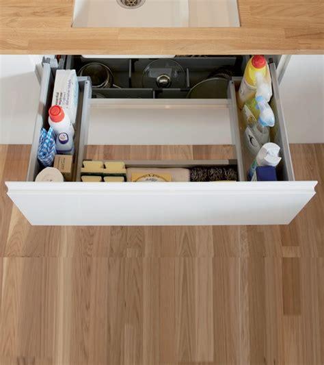 tiroir sous meuble cuisine tiroir de rangement sous évier houdan cuisines