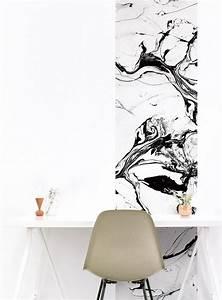 Papier Peint Bureau : papier peint magn tique et aimant blog d co clem ~ Melissatoandfro.com Idées de Décoration