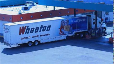 WHEATON WORLD WIDE MOVING TRUCK - YouTube