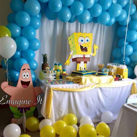 spongebob birthday ideas photo 1 of 4 catch my