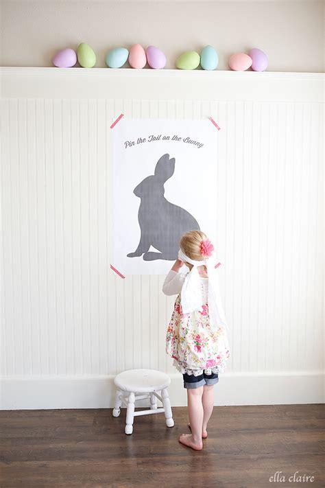 pin  tail   bunny  easter printable ella