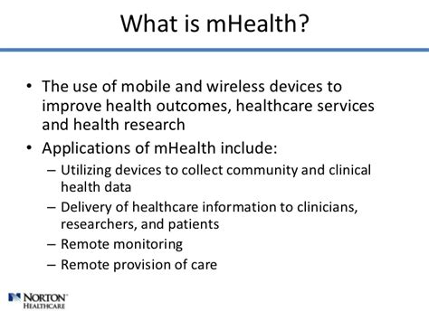 Mhealth In Everyday Practice
