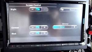Kenwood Dnx890hd Screen Setup - Dimer
