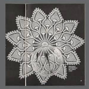 Free Crochet Pineapple Doily Pattern