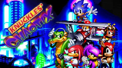 ending for sonic the knuckles 39 chaotix walkthrough