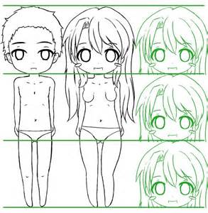 sekai s apprendre 224 dessiner tutoriel le corps d un chibi tutoriels