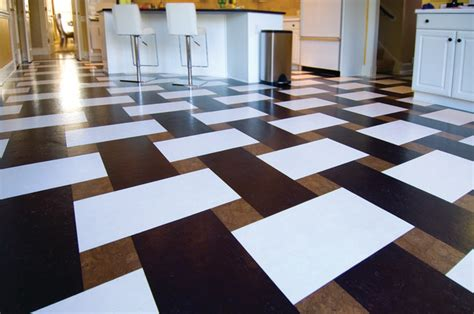 modern flooring ideas  cork material founterior
