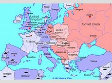Historical Map of Europe 19451990