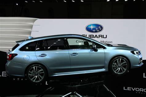 Subaru Levorg Concept 2018 Tokyo Motor Show Side Indian