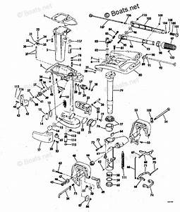 Evinrude Outboard Parts By Year 1978 Oem Parts Diagram For Exhaust Housing