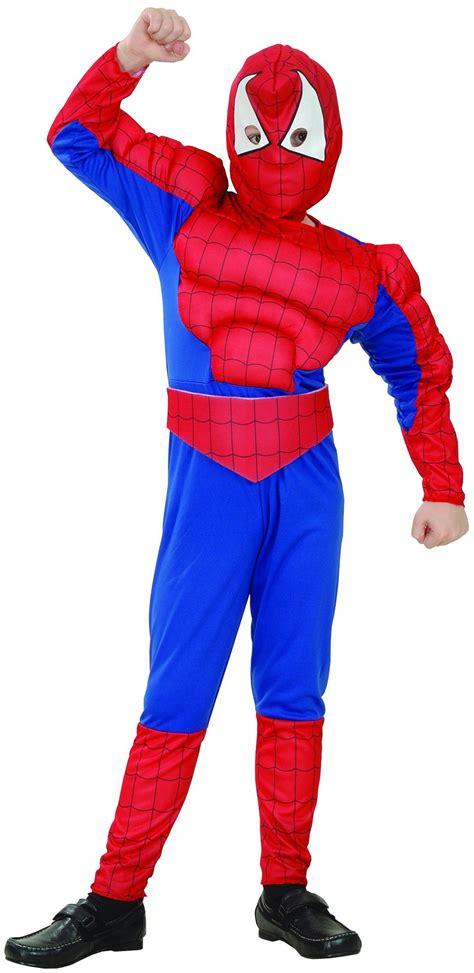 disfraz superheroe hombre arana nino disfraces ninosy