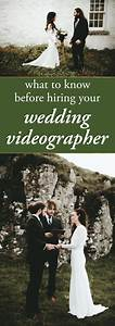 What to know before hiring your wedding videographer for Find a wedding videographer