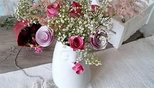 Rosen Aus Servietten Basteln : diy rosen aus papier basteln mit 58products und verlosung pretty you ~ Frokenaadalensverden.com Haus und Dekorationen