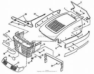 Snapper Lt150h38bbv 38 U0026quot  15 Hp Hydro Drive Tractor Series B