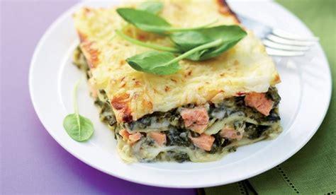 pates aux epinards et saumon recette lasagnes au saumon et aux 233 pinards chr 233 tiens lifestyle