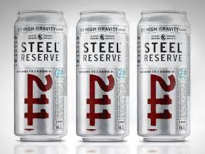 211 Steel Reserve Beer