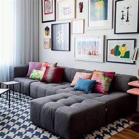 sala sofa cinza e poltrona azul sof 225 cinza 70 modelos de decora 231 227 o para inspirar voc 234