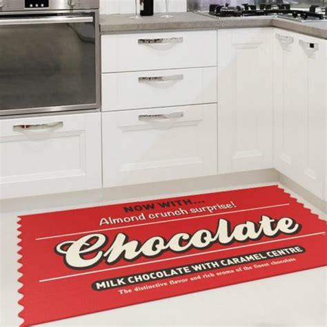 tapis pour cuisine original tapis de cuisine chocolate cadeau maestro