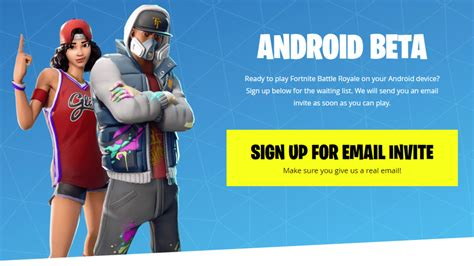 How to Get Fortnite Beta on Your Android Phone