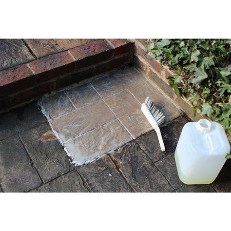 patio cleaner to remove black spot lichen and algae