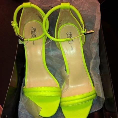 Shoes: neon green, high heels, heels, green heels, sandals