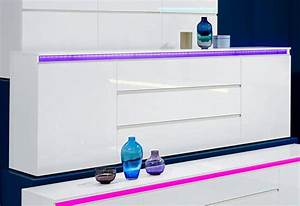 Sideboard Weiß Hochglanz 180 Cm : tecnos sideboard breite 240 cm online kaufen otto ~ Indierocktalk.com Haus und Dekorationen