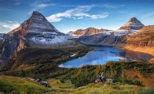 nature, , landscape, , forest, , glacier, national, park, , montana
