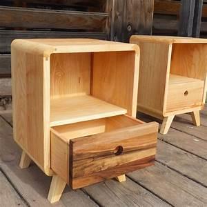 Table De Chevet Wengé : chevet bois ~ Nature-et-papiers.com Idées de Décoration